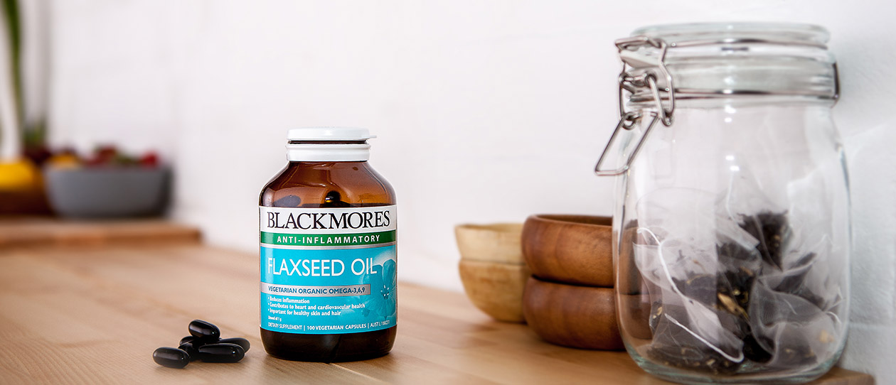 Blackmores flaxseed oil
